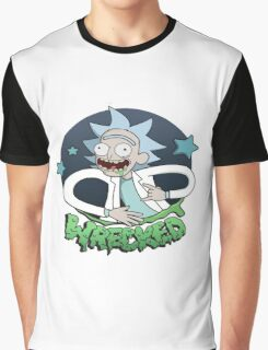 Rick And Morty Wrecked Graphic T-Shirt