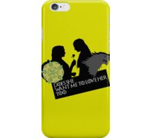 Sansa/Margaery - Does she want me to love her too?  iPhone Case/Skin
