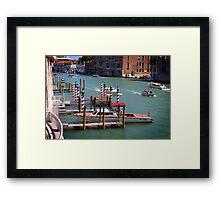 Gran Canal, Venice Framed Print