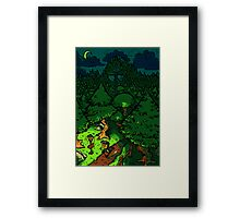 Past Curfew at Whispering Rock Framed Print
