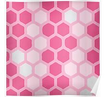 Pink Cube Poster