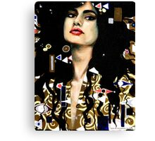 Klimt Inspired 1 Canvas Print