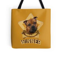 Staffordshire Bull Terrier WINNER Tote Bag