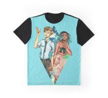 Haruka and Michiru Graphic T-Shirt