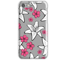 Romantic floral pattern iPhone Case/Skin