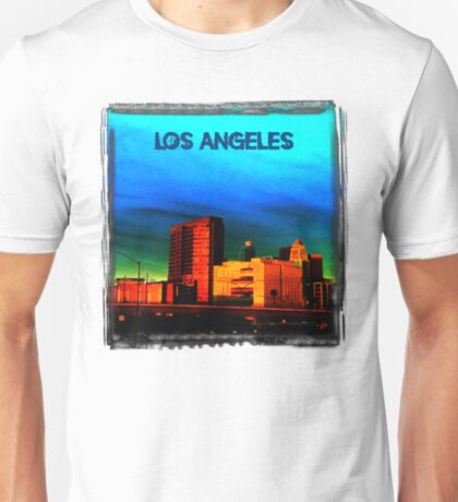 LA on a Dark Day (The Dark Side of Art) by Jeronimo Rubio Photography 2016 Unisex T-Shirt