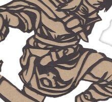 Link Papercraft Sticker