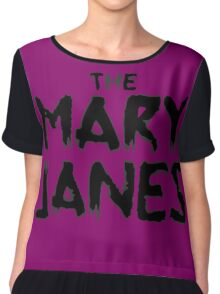 Spider-Gwen: The Mary Janes Chiffon Top
