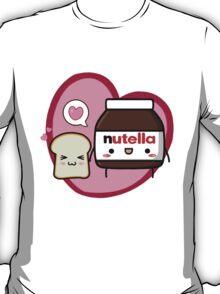 Kawaii Nutella and sandwich bread T-Shirt