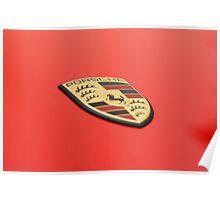 Porsche Crest Poster