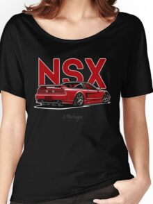 Acura / Honda NSX (red) Women's Relaxed Fit T-Shirt
