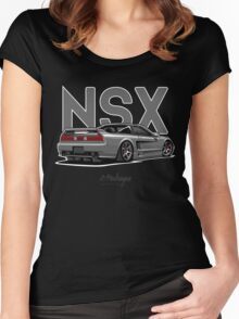 Acura / Honda NSX (grey) Women's Fitted Scoop T-Shirt