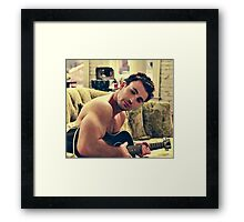 chris evans Framed Print