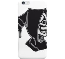 Death hooded sweatshirt halloween iPhone Case/Skin