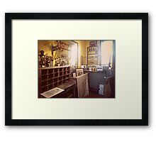 The Vintage Post Office Framed Print