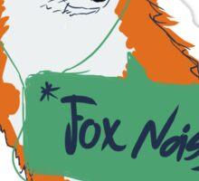 Fox Noises Sticker