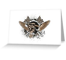 Death race Greeting Card