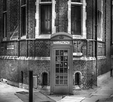 London Telephone Booth by Alex Rentzis