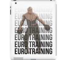 Euro Training iPad Case/Skin