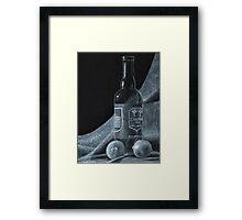 Ale and Lemons Framed Print