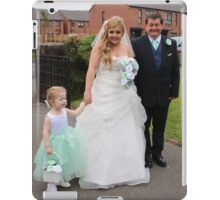 Laura Laicey & Laura's Father Arriving, iPad Case/Skin