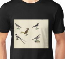 Naturgeschichte in Bildern mit erläuterndem Text E Strack 1820 Lief 2 Birds 059 Unisex T-Shirt