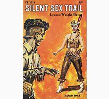 Silent Sex Trail vintage sleaze paperback cover Classic T-Shirt