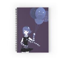 Sad Balloons Spiral Notebook
