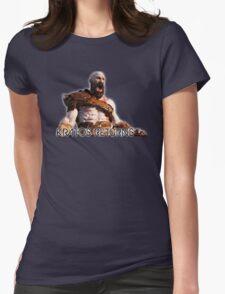 KRATOS RETURNS - NEW GOD OF WAR Womens Fitted T-Shirt