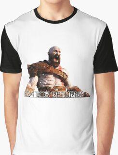 KRATOS RETURNS - NEW GOD OF WAR Graphic T-Shirt
