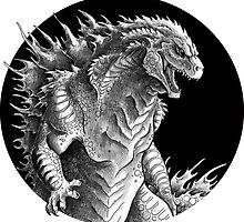 King of Beasts - On Black by cjellis