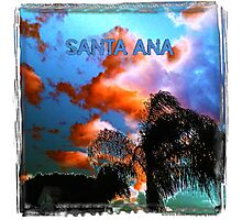 Santa Ana (The Dark Side of Art) by Jeronimo Rubio Photography 2016 Photographic Print