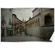 Calles de Segovia Poster
