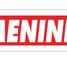#MENINIST Sticker