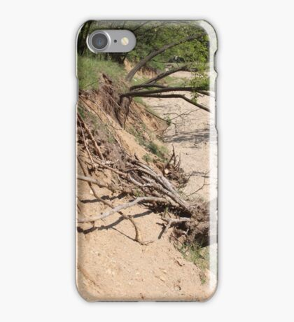 Our Life Often Ends With Erosion iPhone Case/Skin