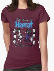 Dance With Hepcat Womens Fitted T-Shirt