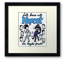 Dance With Hepcat Framed Print