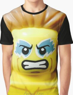 Lego Wrestling Champion Graphic T-Shirt
