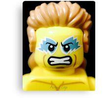 Lego Wrestling Champion Canvas Print