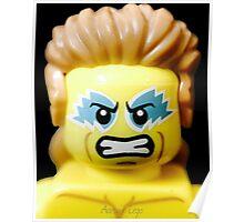 Lego Wrestling Champion Poster