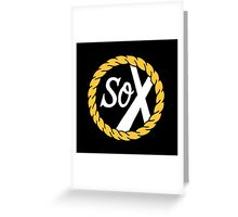 SoX- Chance the Rapper  Greeting Card