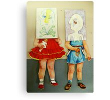 you are me dolls Canvas Print