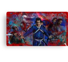 THE SHOGUN ASSASSIN AKA bring your child to work day. Canvas Print