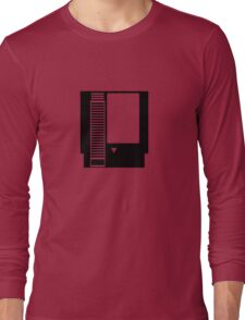 Minimal NES Cartridge Long Sleeve T-Shirt