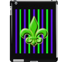 Classically French  Green  iPad Case/Skin