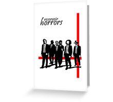 Reservoir Horrors Greeting Card