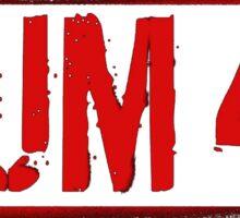 SUM 41 RED STENCIL BEST Sticker