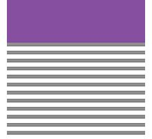 Grey Stripes With A Touch Of Purple Photographic Print
