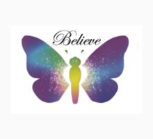 Butterfly - Sparkler Believe Outside Kids Tee