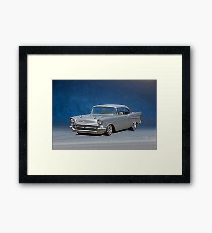 1957 Chevrolet Bel Air Hardtop Framed Print